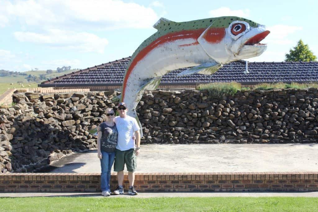 big trout in Oberon