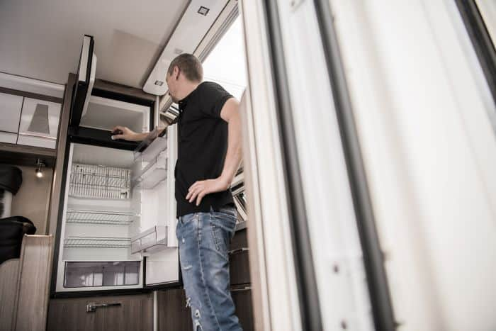 storing your caravan or camper trailer